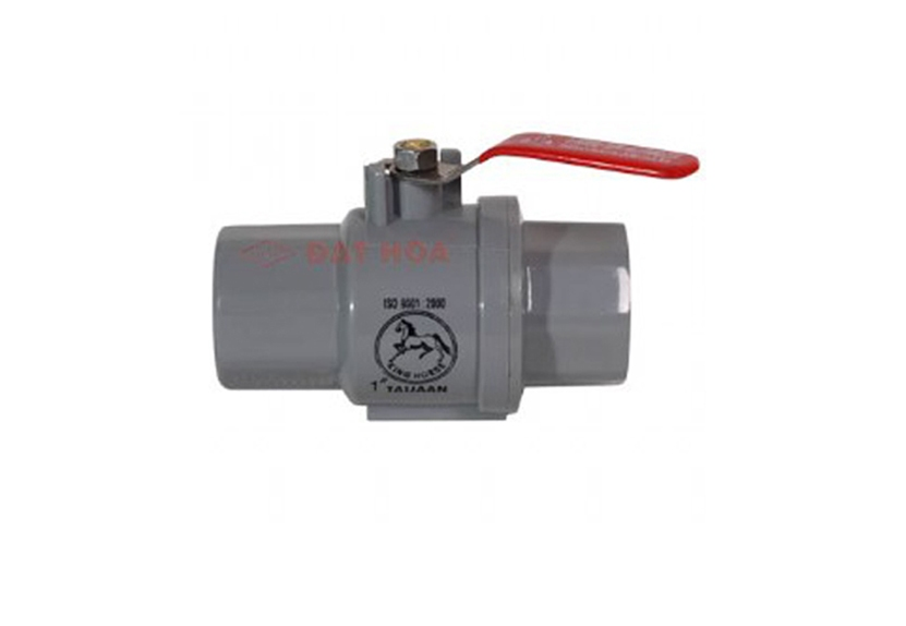 The plastic hand stainless steel valves